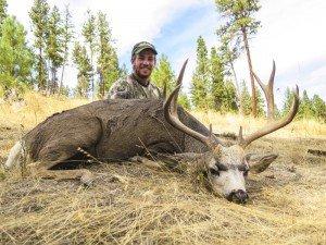 """""""Benny Boy"""" 2014 SPO Oregon Mule Deer"""