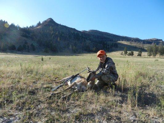 Hunter W Special Anterless Antelope Hunt 2012