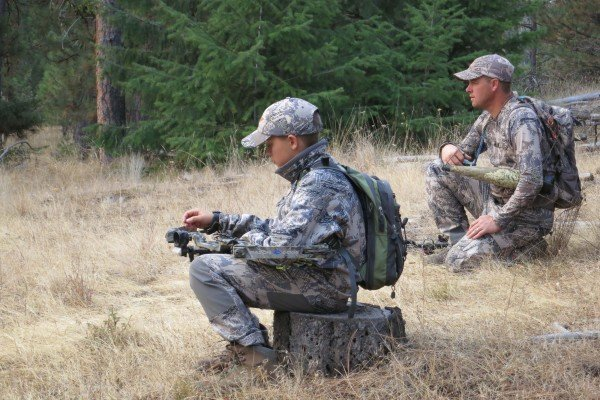 Sitka Athletes!!! Hunter & Mark listening for elk in September 2012