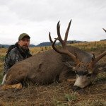 6x4 Rocky Mountain Mule Deer taken by Bob H of Washington with Sarvis Prairie Outfitters in 2013
