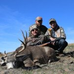 Eli punched another Oregon Mule Deer tag with Sarvis Prairie Outfitters in 2013