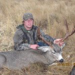 Sawyer Logan with a SPO Muley