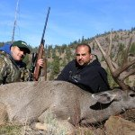 Jimmy with his 2013 spectacular 4x5 Oregon Mule Deer taken in 2013 with Sarvis Prairie Outfitters