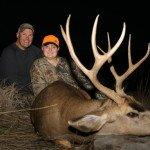 Great 1st Mule Deer taken by Alyssa C of California in 2013 with SPO
