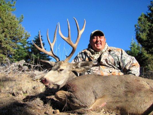 Harry's 2012 SPO Mule Deer Buck 160's B&C