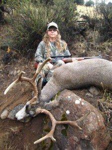 Jenni's SPO Mule Deer, Pic it where it falls!!!